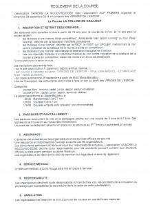 reglement virade 2014 001