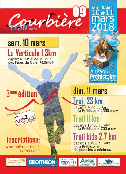 flyer Trail Courbière 2018